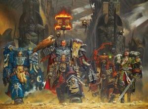 warhammer 40k space marines inquisitors adeptus mechanicus imperial guard